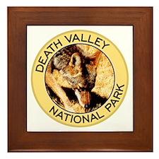 Death Valley NP (Coyote) Framed Tile