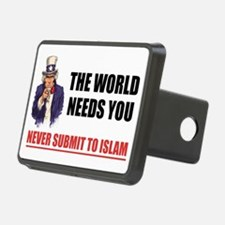 Uncle San Against Islam Hitch Cover