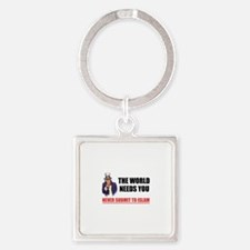 Uncle San Against Islam Keychains
