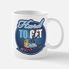 Hard To Get - Blue Mugs