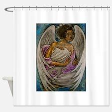 Cute Angel Shower Curtain