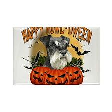 Cute Halloween pumpkin Rectangle Magnet
