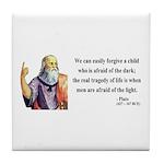 Plato 1 Tile Coaster