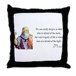 Plato 1 Throw Pillow