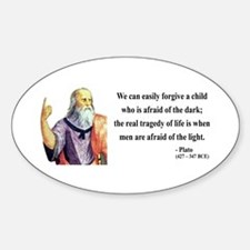 Plato 1 Oval Decal
