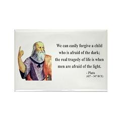 Plato 1 Rectangle Magnet (100 pack)