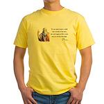 Plato 1 Yellow T-Shirt
