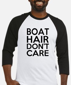 Boat Hair Don't Care Funny Baseball Jersey