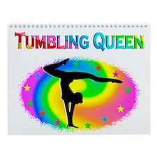 Tumbling Queen Wall Calendar