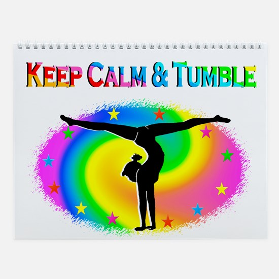 Keep Calm Gymnast Wall Calendar