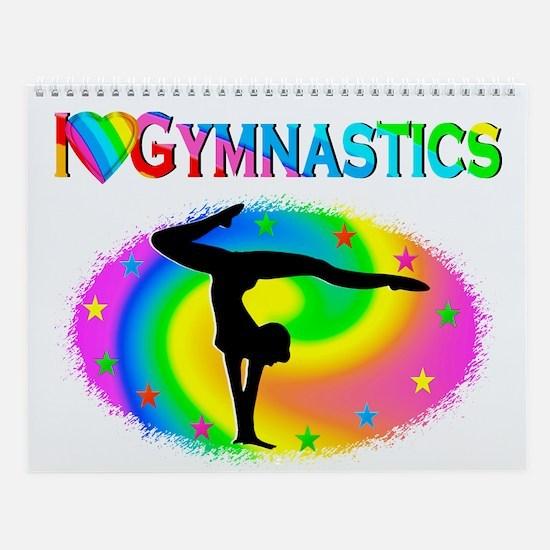 Gymnastics Love Wall Calendar