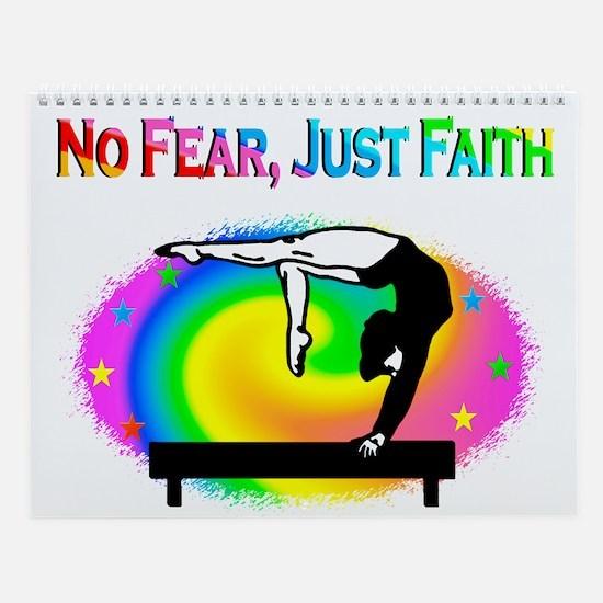 Fearless Gymnast Wall Calendar