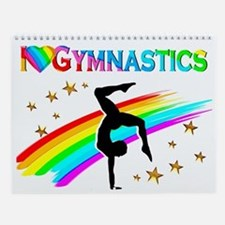 Love Gymnastics Wall Calendar