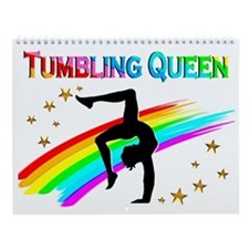 Tumbling Gymnast Wall Calendar