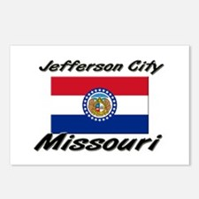 Jefferson City Missouri Postcards (Package of 8)