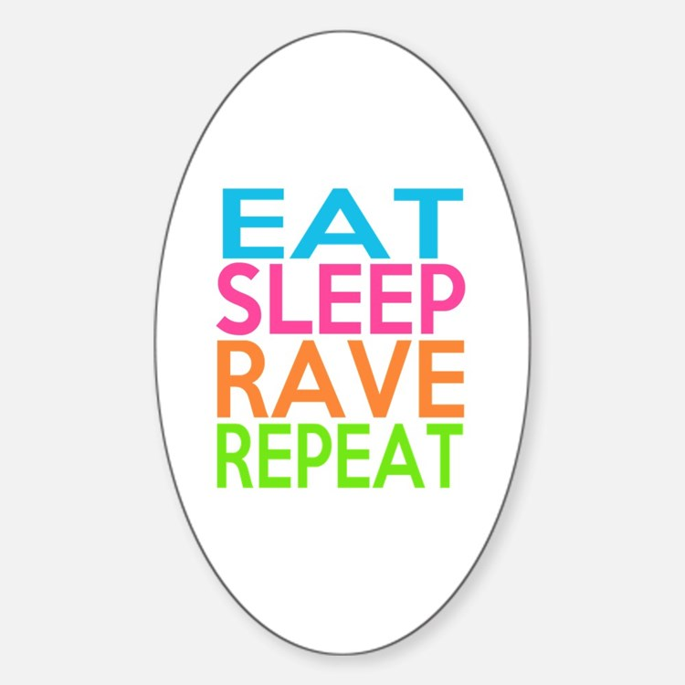 Cute Rave Decal