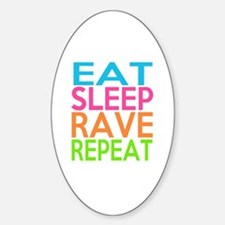 Cute Rave Sticker (Oval)
