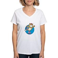 Kitty on Roller Skates Shirt