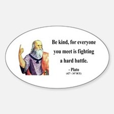 Plato 2 Oval Decal