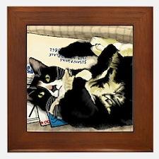 Cute Phillip Framed Tile