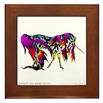 Rainbow Unicorn<br> Framed Tile