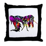 Rainbow Unicorn<br> Throw Pillow