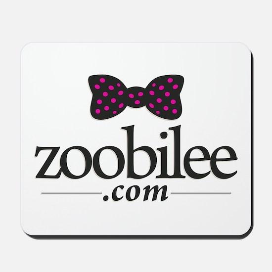 Zoobilee logo Mousepad