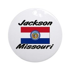 Jackson Missouri Ornament (Round)