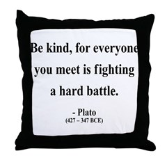 Plato 2 Throw Pillow