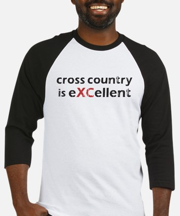 Cross Country eXCellent Baseball Jersey