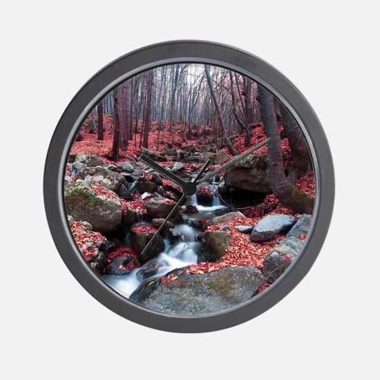 Woodland Stream Wall Clock
