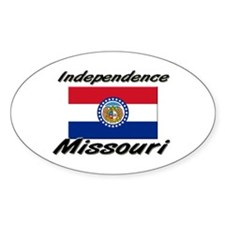 Independence Missouri Oval Decal
