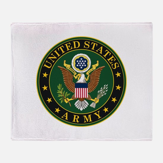 U.S. Army Symbol Throw Blanket