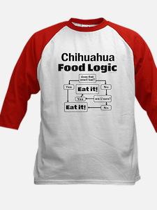 Chihuahua Food Kids Baseball Jersey