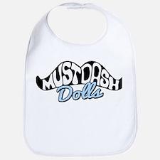 MustDash Moustache Bib