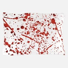 Blood splatter Pillow Case