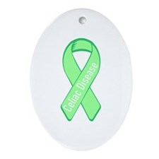 Celiac Disease Oval Ornament