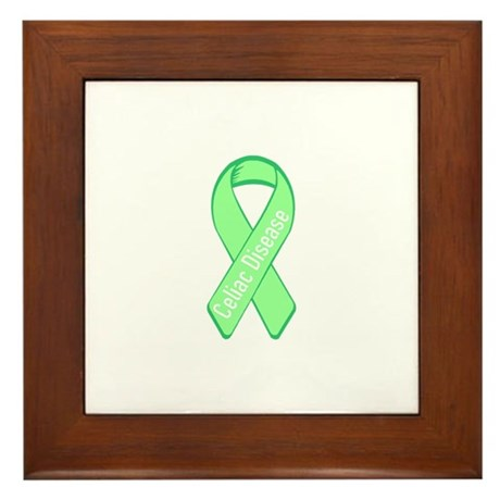Celiac Disease Framed Tile