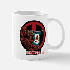 Deadpool Flag Small Small Mug