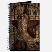 grunge cowboy boots western country Journal