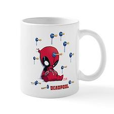Deadpool Toy Darts Small Mug