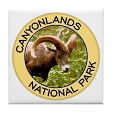Canyonlands NP (Bighorn Sheep) Tile Coaster