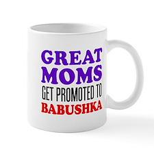 Promoted To Babushka Drinkware Mugs