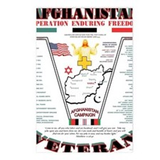 AFGHANISTAN WAR OPERATION Postcards (Package of 8)