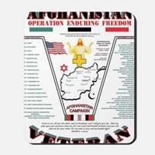 AFGHANISTAN WAR OPERATION ENDURING FREED Mousepad
