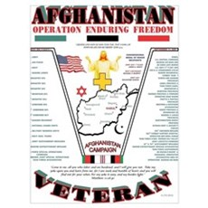 AFGHANISTAN WAR OPERATION ENDURING FREEDOM Poster