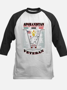 AFGHANISTAN WAR OPERATION ENDURING Baseball Jersey