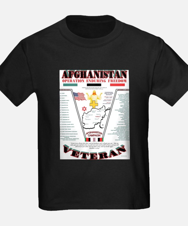 AFGHANISTAN WAR OPERATION ENDURING FREEDOM T-Shirt