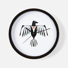 Native American Thunderbird Wall Clock