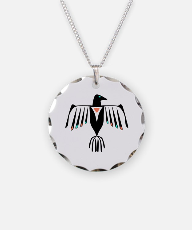 Native American Thunderbird Necklace